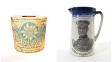 The Edelweiss toilet paper,  from Third Reich Germany, which sold for €290; the Michael Collins jug, which sold for €1,800