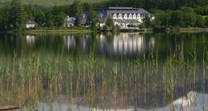 Best hotel: Harvey's Point, Co Donegal