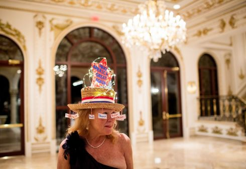 Rosemary Harder before an election night event for Donald Trump, at Mar-a-Lago in Palm Beach, Fla., March 15th.  Photograph: Eric Thayer/The New York Times