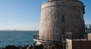 Stay in your very own Martello tower in Sutton, north Co Dublin For more sedate marine scenery you can stay in your very own Martello tower in Sutton, north Co Dublin