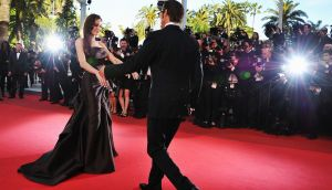 Angelina Jolie and Brad Pitt at the Cannes Film Festival in 2011. Ms Jolie has filed for divorce. Photograph: Pascal Le Segretain/Getty Images