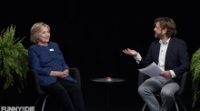 Hillary Clinton appears on 'Between Two Ferns With Zach Galifianakis'
