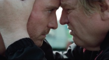 Fassbender and Gleeson star as father and son in 'Trespass Against Us'