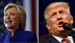 Hillary or The Donald: Who has your vote for president?