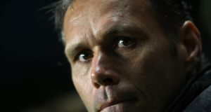 Marco Van Basten, who has been appointed as Fifa's chief officer for technical development. Photograph: Nick Potts/PA