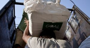A senior manager has resigned from Goal and the Government has withheld a further €7 million in funding from the aid agency. Photograph: Goalglobal.org