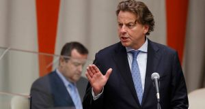 "Dutch foreign minister Bert Koenders: ""The Netherlands deals with Dutch society and that has nothing to do with the Turkish government."" Photograph: Lucas Jackson/Reuters"