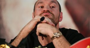 Tyson Fury: a statement said medical specialists have advised that the condition is too severe to allow him to participate in the rematch. Photograph: Alex Livesey/Getty Images