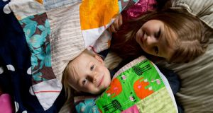 For children in Finland's day-care systtem, a nap is an important part of the day.  Photograph: Riitta Supperi/Keksi/Team Finland