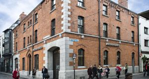 The building is in the centre of Temple Bar and has a floor area of 790 sq m (8,500 sq ft).