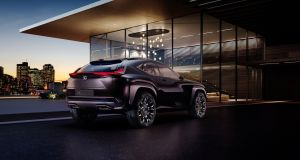 The  UX concept from Lexus will be shown at the 2016 Paris motor show