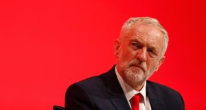 "British Labour leader Jeremy Corbyn. ""A Corbyn-led Labour is now far closer to the values of Connolly than the current Irish Labour Party."" Photograph: Peter Nicholls/Reuters"