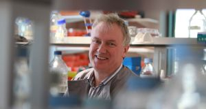 "Prof Luke O'Neill: ""I won't be quitting the immune system any time soon."" Photograph: Nick Bradshaw"