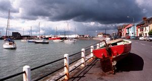 The quay in Skerries in north Dublin.    Photograph: Brenda Fitzsimons/The Irish Times