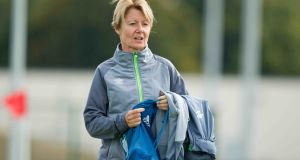 Ireland senior women's team manager Sue Ronan has stepped down from her position. Photo: Inpho