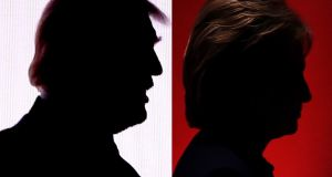 The  debate between Democratic nominee Hillary Clinton and Republican Donald Trump is expected to set new TV viewership records with some pundits expecting as many as 100 million to tune in. Photograph: AFP/Getty Images
