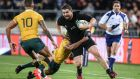 Dane Coles: the  hooker gave three try-scoring passes against South Africa  in the bonus point win at home which sealed another Rugby Championship title for the All Blacks. Photograph:  Martin Hunter/Getty Images