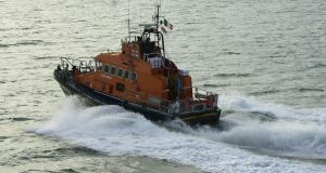 Three fishermen were rescued from a sinking boat about 32km off the west Cork coast on Monday evening. File photograph: Frank Miller/The Irish Times