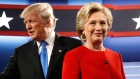 Clinton and Trump clash over Iraq and 'birther' controversy during debate