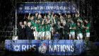 Ireland's last Six Nations triumph in 2015. Photograph: Inpho