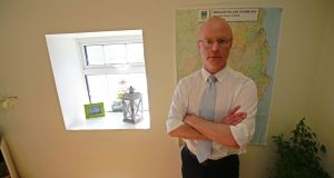 Stephen Donnelly at his constituency office in Greystones, Wicklow: I'm a  proud feminist. Feminism to me is  a no-brainer.   Photograph Nick Bradshaw
