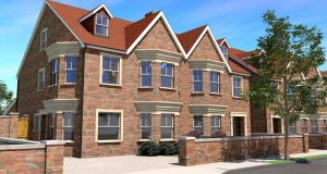 Ladywell development: to comprise 16 large semi-detached houses