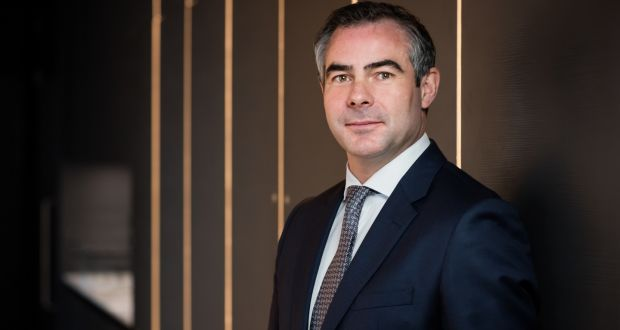 """David Johnson, founder and managing director of Inhous. """"There are so many Irish people in London and I've really started to realise how high up they are in their roles."""""""