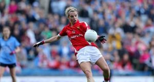 Former Cork GAA star Valerie Mulcahy has signed for Cork City FC. Photograph: Inpho