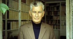 Writing life: Samuel Beckett in France in 1977. Photograph: Louis Monier/Gamma-Rapho via Getty