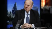 Minister for Finance Michael Noonan: The Government has about €1 billion to spend in the Budget, split on a 2:1 basis between spending increases and tax cuts. Photograph: Simon Dawson/Bloomberg