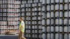 Kegs of  beer made by Anheuser-Busch InBev: its stocks gained 1 per cent on reports that most investors in beer maker SABMiller  support AB InBev's takeover offer. Photograph: Olivier Hoslet/EPA