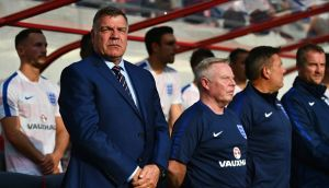 Sam Allardyce is to leave his role as England manager after one game in charge. Photograph: Getty