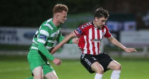 Derry City and Shamrock Rovers shared the spoils at the Brandywell. Photograph: Inpho