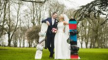 Our wedding story: Engineers meet their match