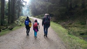 Kids often find it boring to hike with their parents and siblings, but if their friends come along on the hike, the transformation in their attitudes can be spectacular.