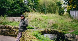 Van Morrison in 2014 in the Hollow, where the Knock and Loop rivers join to form the Beechie river, properly known as the Connswater river, in east Belfast. Photograph: Exile Productions
