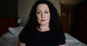 Sex worker Laura Lee, who  has brought a case to the  High Court in Belfast. Photograph: Charles McQuillan/Getty Images