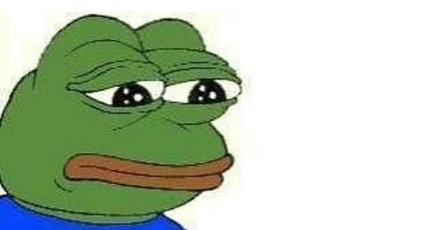 Sad frog meme designated an online hate symbol pepe the frog also known as the sad frog meme voltagebd Image collections