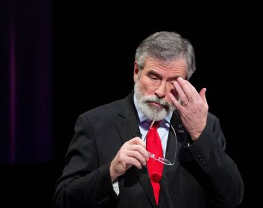 "Dáil water charges debate: Gerry Adams said he regretted not coming up with the Kama Sutra line, before adding that ""my teddy bears are virgins"", in reference to his frequent mention of bears on Twitter."