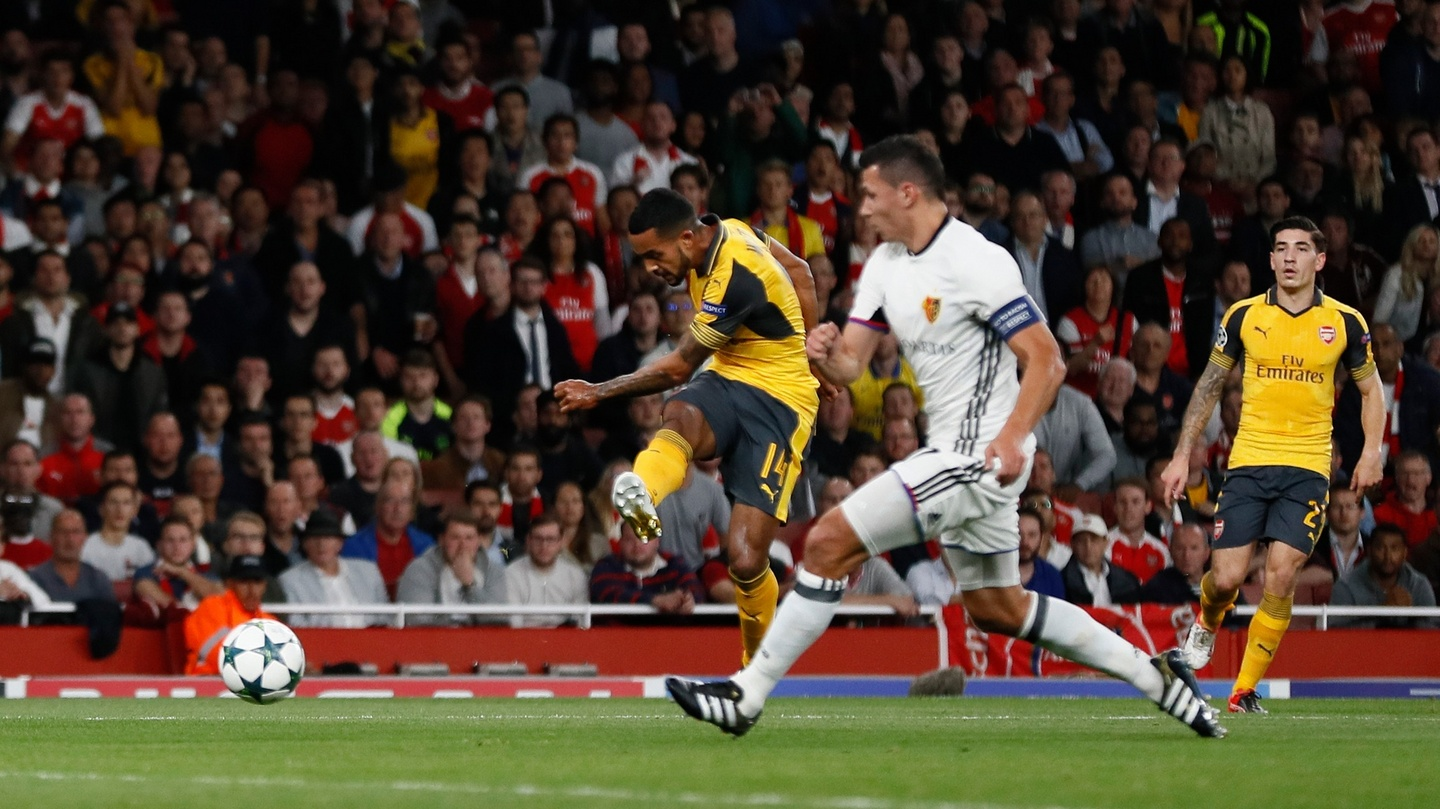 Theo Walcott and Arsenal keep up electric form against Basel