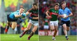 Dublin's John Small has impressed this year, but the absence of Jack McCaffrey is still felt. Photographs: Both Cathal Noonan/Inpho