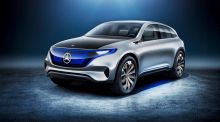 Paris Motor Show: Merc's EQ concept is the first in a whole electric car range