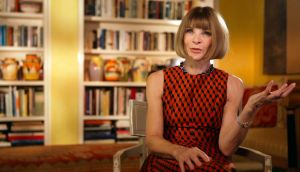 Glamour puss: Anna Wintour in First Monday in May