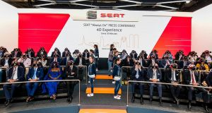 Seat's press conference was all presented using virtual reality headsets: the future of car buying?