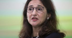 Outgoing Bank of England deputy governor Nemat 'Minouche' Shafik said a UK rate cut would depend on data. Photograph: Bloomberg