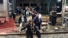 More than 100 people injured in New Jersey rail station crash