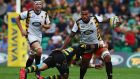 Nathan Hughes of Wasps: Fijian-raised backrow forward set to be named in England squad for autumn internationals. Photograph: Matthew Lewis/Getty Images.