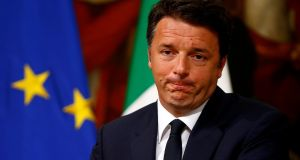 Italian prime minister Matteo Renzi has said: 'It will be impossible to give to British people more rights than other people outside the EU.' Photograph: Reuters/Tony Gentile