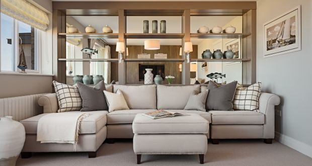 A Living Room In A Ventura Design Showhouse In Marina Village In Greystones