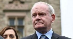 "The Sinn Féin Deputy First Minister Martin McGuinness has again insisted that as a majority of people in Northern Ireland - 56 per cent - voted to remain in the European Union that vote ""must be recognised and respected in any negotiations"" on Brexit."